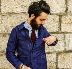ワークジャケットの着こなしとコーデ | メンズファッションスナップ フリーク