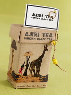"""Ajiri Tea is an award-winning Kenyan black tea grown and handpicked by small-scale farmers in western Kenya. It is processed at a Rainforest-Alliance certified cooperative factory. The word Ajiri means """"to employ"""" in Swahili"""