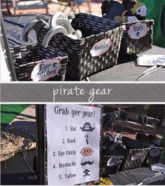 More Pirate Ideas
