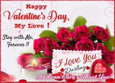 Because I Love You Free Cardsbeautiful Roseshappy Valentines
