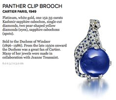 panther clip brooch cartier 1949