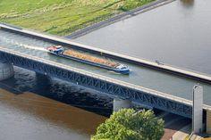 Trogbrücke nördlich von Magdeburg