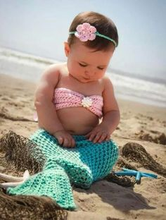 Baby mermaid outfit