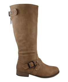 Taupe Studded Chapter 19 Boot