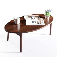US $157.21 Loft Style Furniture Modern Studio Collection Classic Oval Coffee Table And End Table Set Dark Espresso Folding Table. Aliexpress product