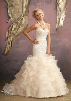 Mori Lee by Madeline Gardner 2012 bridal collection