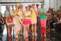 Agatha Ruiz de la Prada #desirgner #moda #AFW