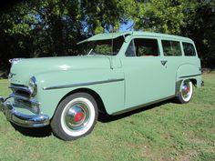 1950 PLYMOUTH SUBURBAN 2 DOOR WAGON - Barrett-Jackson Auction Company - World's Greatest Collector Car Auctions