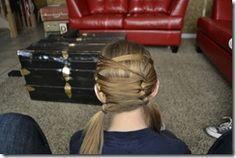 Easy Girls Hairdos tons of Ideas!