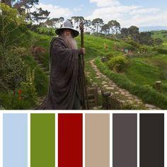 #반지의제왕 #간달프 #color #컬러팔레트 #컬러공부 #영화 #colorpalette Movie Color Palette, Cinema Colours, Color Of Life, Color Pallets, Lotr, The Hobbit, Short Film, Paint Colors, Catalog