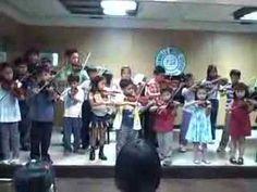 Suzuki Violin - Twinkle Variations (group)