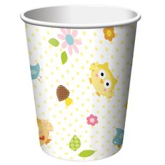 Owl Paper Cups
