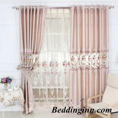 decoration and blackout luxury golden peony printed sheer and
