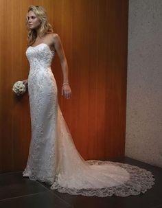 Casablanca 1820 💟$213.99 from http://www.www.lightingsome.com   #bridalgown #mywedding #weddingdress #casablanca #wedding #bridal