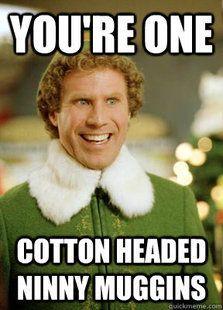 Image result for Buddy the elf meme