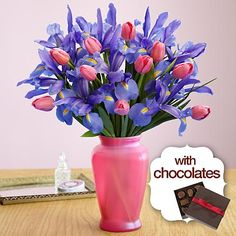 Mom's Delight with Chocolates and other flowers & plants at ProFlowers.com
