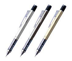 Tombow Mono Graph Shaker Mechanical Pencil - 0.5 mm - Metal Gold/Black/Silver by niconecozakkaya on Etsy