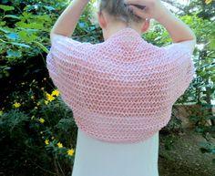 Knit Light Pink Bolero Wedding Bolero Shrug Sleeves by beyazdukkan, $39.00