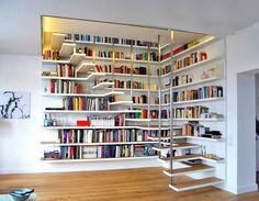 Merdiven Kitaplık Tasarımları