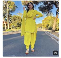 Image may contain: 1 person, standing and outdoor Punjabi Suit Neck Designs, Patiala Suit Designs, Patiala Salwar Suits, Kurti Designs Party Wear, Anarkali Kurti, Punjabi Fashion, Pakistani Fashion Casual, Indian Fashion Dresses, Pakistani Outfits