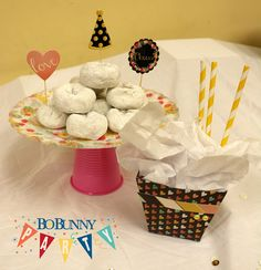 BoBunny: Plates with Pizzazz! Featuring the You're Invited Collection. #BoBunny