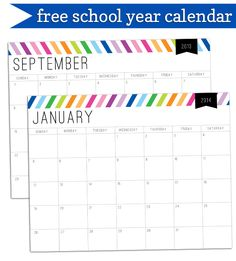 Awesome calendar - open in adobe and you can fill in the squares AND change the font, color, and font size.  See post for instructions.