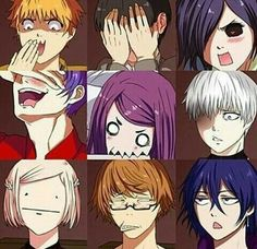 The many expressions of tg chara