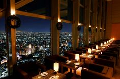 Park hyatt bar in Tokyo. Made famous for the movie Lost In Translation