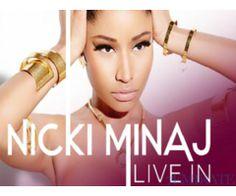 Nicki Minaj Concert Tickets of 25th March 2016