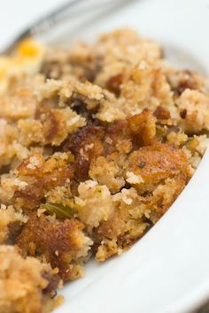 Apple & Toasted Pecan Cornbread Dressing