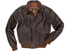 "Shop our men's ""Remember Pearl Harbor"" Flight Jacket at Cockpit USA. Available in brown. Made in the USA. Authentic, all-american apparel since Brown Leather Bomber Jacket, Leather Flight Jacket, Real Leather, Leather Men, Different Fabrics, Clothes, 40th Anniversary, Bomber Jackets, Aviators"
