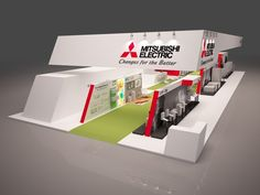 Stand Mitsubishi Electric on Behance