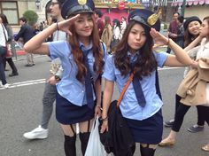 #sexy police @usj_official on #halloween weekend