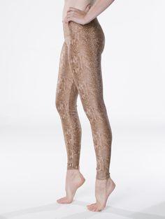 Sandy Snakeskin Leggings - almost as beautiful as their python leggings:)