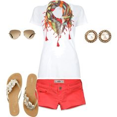 summer cute:), created by emilytater00 on Polyvore