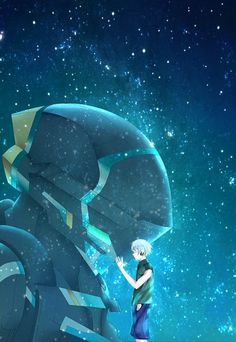 Gargantia on the Verdurous Planet / Suisei no Gargantia (翠星のガルガンティア) - Ledo & Chamber