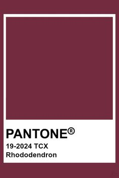 Pantone Swatches, Color Swatches, Pantone Colour Palettes, Pantone Color, Colour Pallette, Colour Schemes, Shades Of Burgundy, Color Harmony, Colour Board
