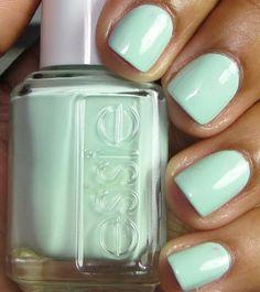 Essie mint. @Adrean Painter Painter Painter Painter Tiffany we need this.