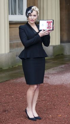 Kate Winslet, de look Alexander McQueen.  GETTY