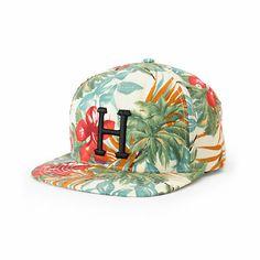 HUF Blossom Classic H Snapback Hat | Zumiez Exclusive