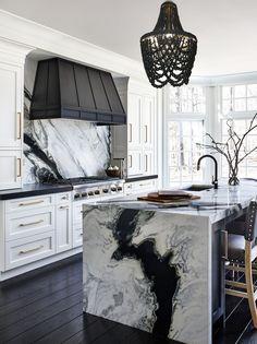 Luxury Kitchen Design, Dream Home Design, Home Interior Design, House Design, Modern Home Design, Modern Decor, Decoration Design, Küchen Design, Design Ideas