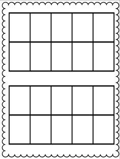 Printable worksheets ten frame worksheets for kindergarten : ten frame kris Teaching Aids, Kindergarten Worksheets, Kindergarten Classroom, Math Activities, Ten Frame Activities, Classroom Ideas, Ten Frames, 10 Frame, Math Numbers