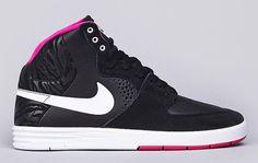 Nike SB Paul Rodriguez 7 High - Black  Pink Foil | KicksOnFire.com