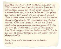 Liebesbriefe schreiben | desired.de | Liebesbriefe
