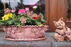 Nabízím na objednávku keramické truhlíky, cena za - obrázek číslo 3
