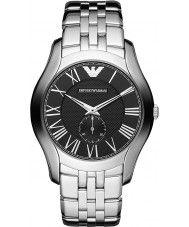 Mens Emporio Armani Mens Classic Silver Steel Bracelet Watch 139.00 Watches2U