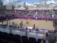 Beach Volleyball - Horse Guards Parade - Gordon Stuart