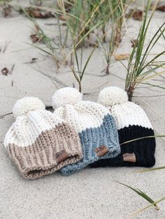 Your place to buy and sell all things handmade Blue Point Knit Hat Always wanted to learn how to knit, however uncertain where do you start? This particular Utter Begi. Knitting Paterns, Knitting Kits, Loom Knitting, Knitting Projects, Baby Knitting, Crochet Projects, Crochet Patterns, Hat Patterns, Loom Knit Hat