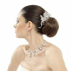 Fabulous high end hair accessories and crystal jewellery at www.georgianna.org.uk
