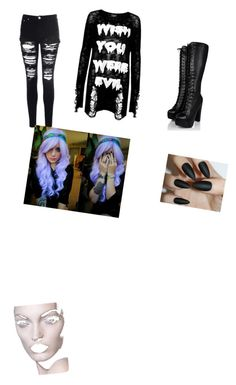 """""""emo"""" by shelbynicoleley ❤ liked on Polyvore"""